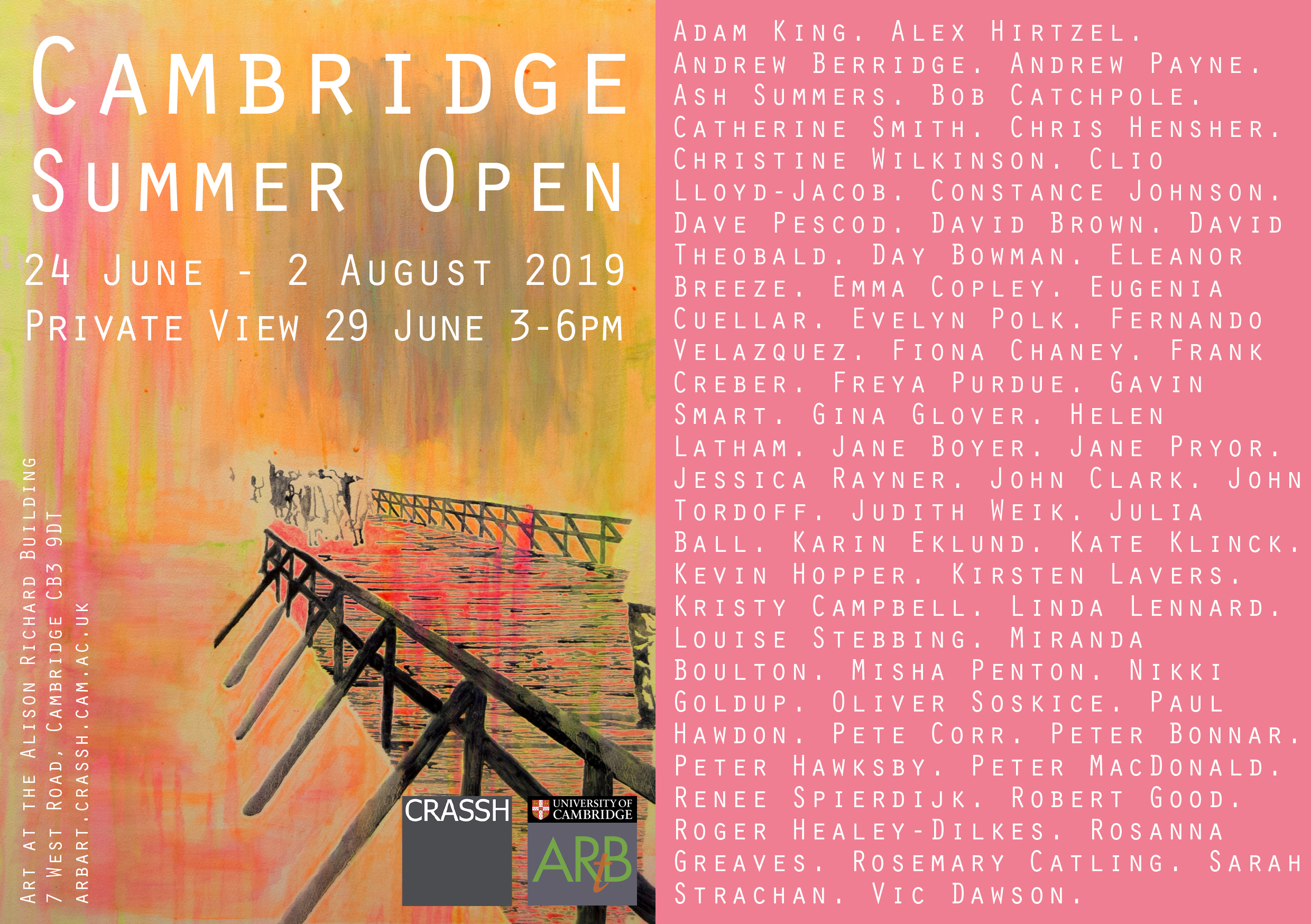 Cambridge Summer Open info